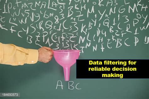 data filtering  reliable decision making criteo labs