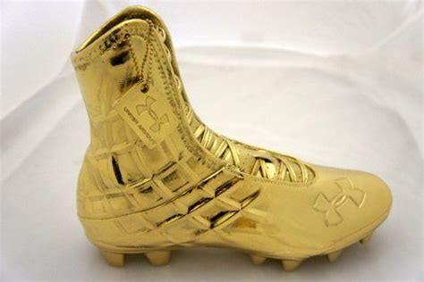kt gold plated  armour cleat  custom kt gold