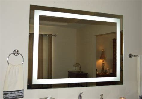 Lighted Bathroom Mirror Wall Mount by 22 Best Images About Bathroom Mirrors On Wall