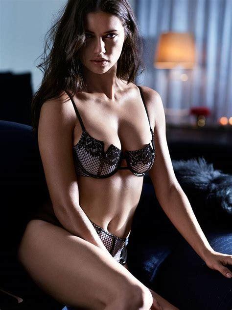 adriana lima lekker sexy voor victorias secret vk magazine
