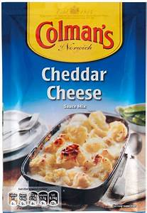 Colman's Cheddar Cheese Sauce Mix 40G