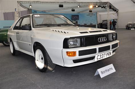 Audi Quattro '�395,000 Record At Bonhams' Goodwood Sale
