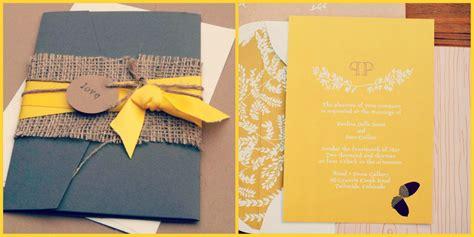faire part mariage bleu et jaune id 233 es pour un mariage en jaune mamzelle drag 233 es