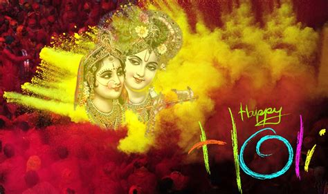 holi  radha krishna images hd wallpapers