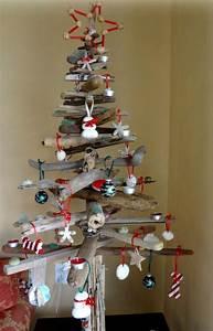 Weihnachtsbaum Aus Metalldraht : weihnachtsbaum selber basteln treibholz deko rot weiss idee skandinavisch weihnachten ~ Sanjose-hotels-ca.com Haus und Dekorationen