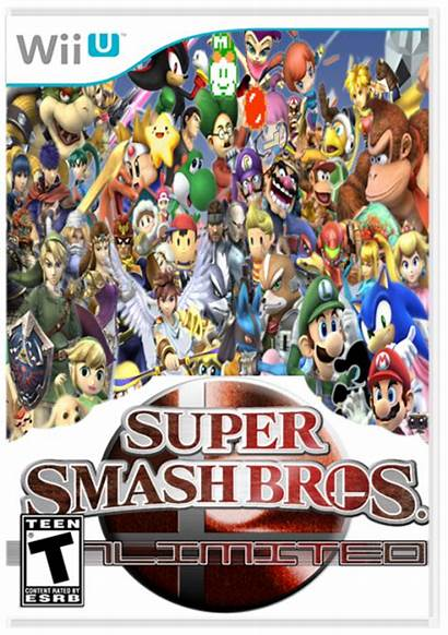 Smash Super Bros Unlimited Wii Box Vgboxart