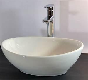 Konsole Für Waschbecken : nero badshop keramik aufsatz waschbecken oval online kaufen ~ Markanthonyermac.com Haus und Dekorationen