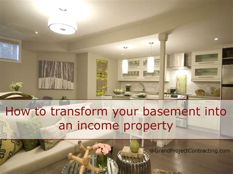 How To Transform Your Basement Into An Income Property