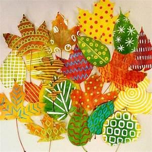 Pinterest Herbst Basteln : herbst bl tter bemalen spielen bauen und basteln mit kindern pinterest herbst bl tter ~ Orissabook.com Haus und Dekorationen