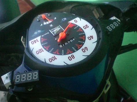 modif speedometer vixion  modifikasi motor