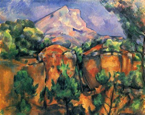 quarry and mont sainte victoire 1900 by paul cezanne