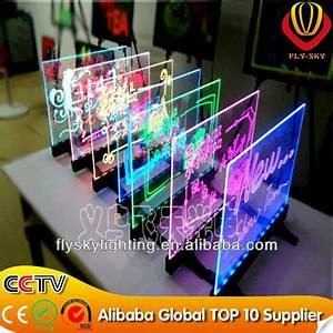 Hand Write Neon Led Writing Board Without Frame New