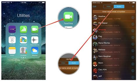 facetime for iphone how to view your facetime call history on iphone and