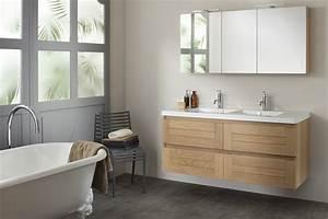 Meuble sous vasque salle de bain ikea salle de bain for Salle de bain design avec meuble salle de bain 60 cm castorama