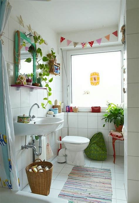 Kleine Badezimmer Pflanzen by Kleines Bad Dekorieren 110 Originelle Badezimmer