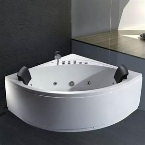 Komfortabler Whirlpool Badewanne Whirlpools EAGO RD Serie