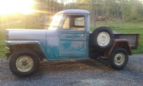 willys jeep pickup for sale 1962 willys jeep 4x4 pickup truck for sale willys pickup