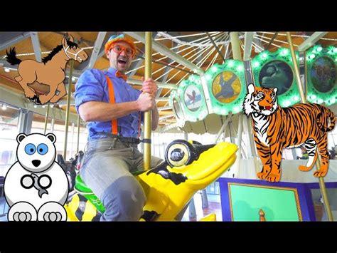 zoo animals blippi learn
