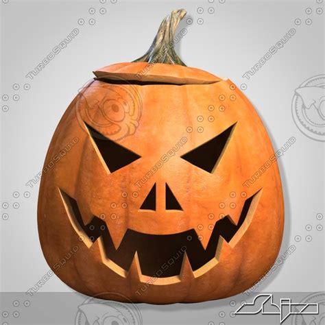 3d Model Halloween Pumpkin Heads