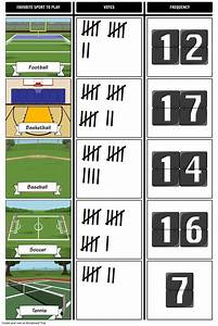 Tally Chart Maker Tally Marks Data Collection