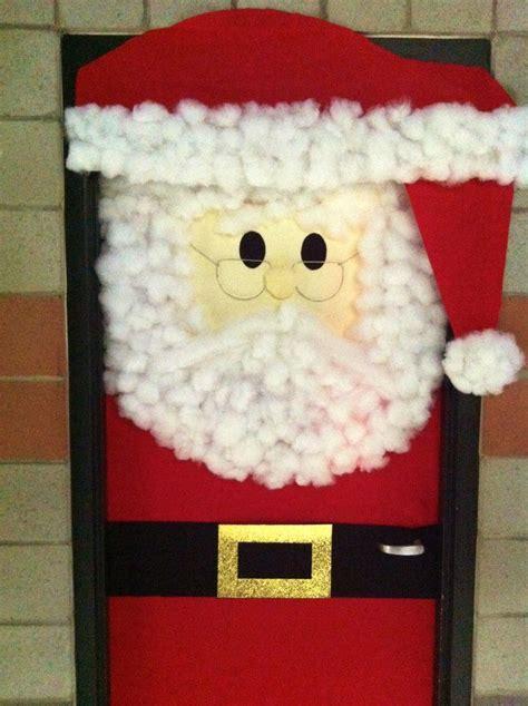 diy santa claus classroom door 25 best ideas about door decorating contest on door decorations