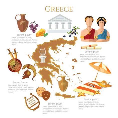ancient greece illustrations royalty  vector