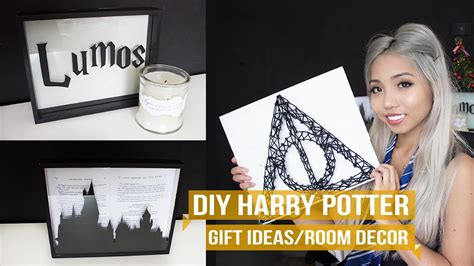 3 Harry Potter Gift Ideas/room Decor Diy Ikea Vanity Fire Pit Instructions Airbrush Spray Booth Water Testing Wedding Cupcakes Kitchen Storage Hockey Locker Toothbrush Holder