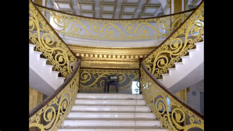 designer railing dudai golden wrought iron railing