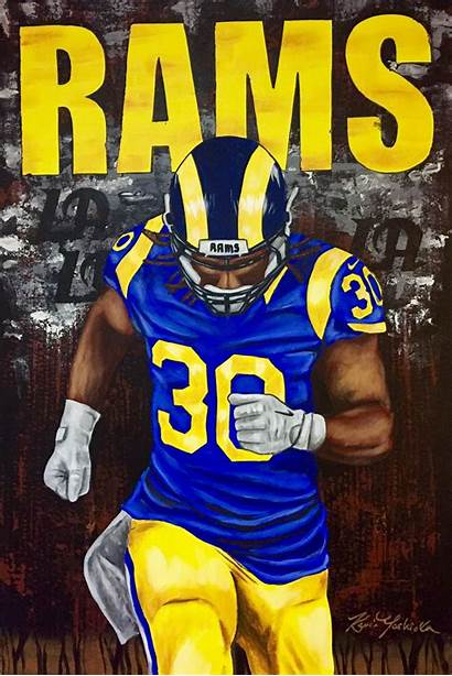 Rams Gurley Todd Nfl Wallpapers Football Angeles