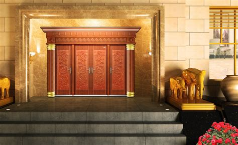 villa door designs outdoor view of luxury door and sculpture design for villa
