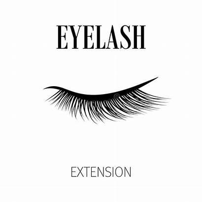 Eyelash Illustration Background Extension Eyelashes Lash Dreamstime