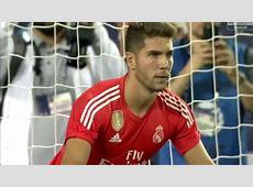 Luca Zidane saves penalty vs MLS All stars YouTube