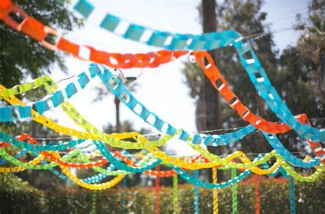 Backyardlorful Paper Chain  Ee  Wedding Ee   Leslie Nolan