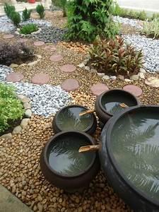 Idée Jardin Zen : 60 id es pour un jardin rocaille d 39 inspiration japonaise ~ Dallasstarsshop.com Idées de Décoration