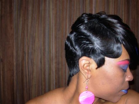 Raymona Hairstyles With Wigs Finger Wave Haircut Side View