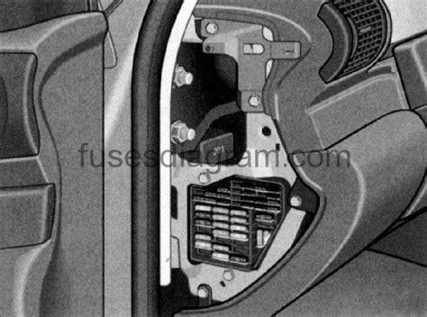 Audi A6 4f Fuse Box by Fuse Box Audi A6 C5