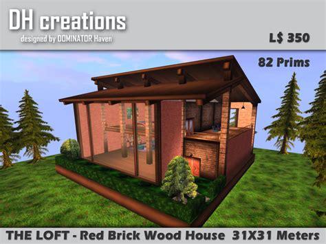 brick wood house second life marketplace the loft red brick wood house