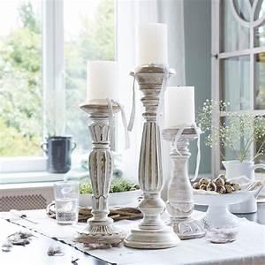 Kerzenständer 3er Set : kerzenst nder 3er set folligny loberon ~ Watch28wear.com Haus und Dekorationen