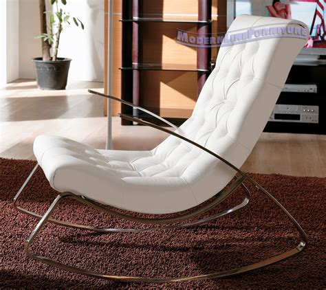 rocking chair with modern design plushemisphere