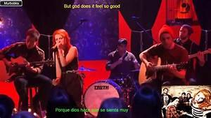 Paramore Misery Business Letra Espau00f1ol Lyrics Ingl Youtube