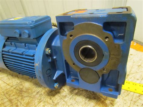 f0 100lr4 b5 electric motor w gearbox speed reducer