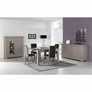 salle a manger stone chene gris solutions pour la With salle a manger stone