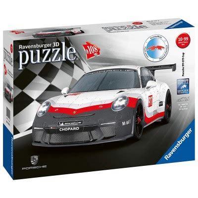 Toujours une formule 1, voici le puzzle 3d de la ferrari. Puzzle 3D - Porsche 911 GT3 Cup Ravensburger-11147 108 pièces