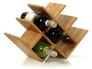 Wooden Table Number Stands by 13 Unique Wine Racks On Which To Store Those Bottles