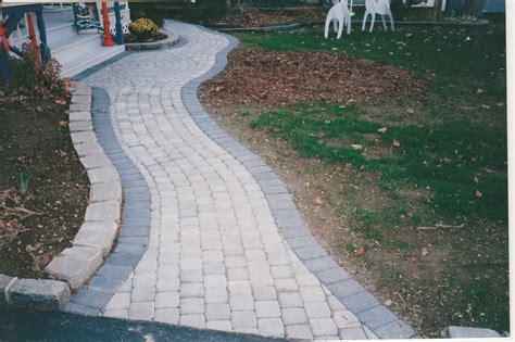 Twelve Front Yard Walkways Ideas  Concrete Pavers Guide
