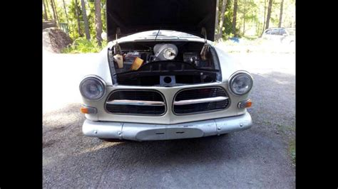 Volvo Restoration by Restoration Of My Volvo 121 1966