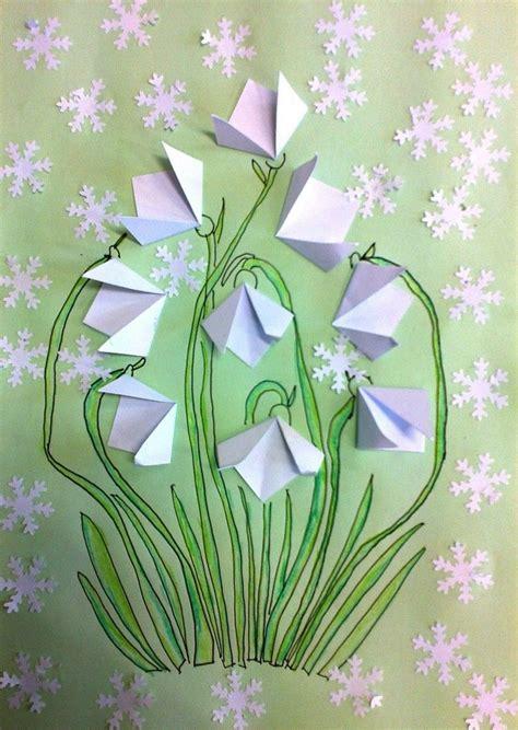 Frühling Basteln Ideen by Schneegl 246 Ckchen Basteln Origami Falten Papier Bastelideen