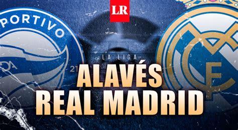 DIRECTV Sports EN VIVO: Ver partido Alavés vs Real Madrid ...