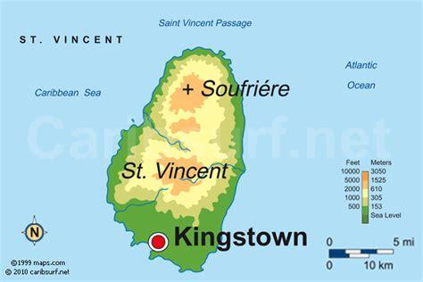 SAINT VINCENT MAPS