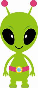 Background clipart alien - Pencil and in color background ...